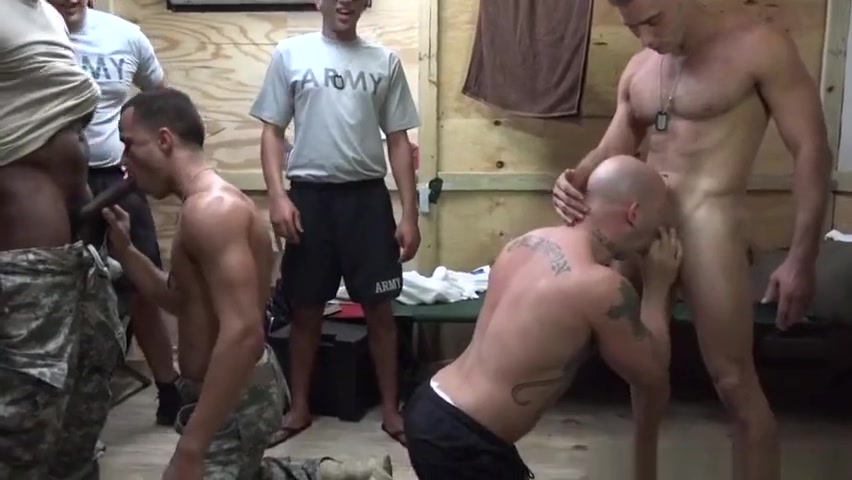 Uniformed military men assfucking in barracks free porn chat room