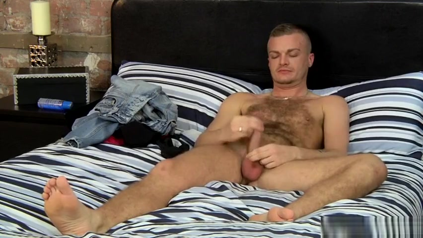 Stroking With Hairy Luke - Luke Stacks is sex healthy for men