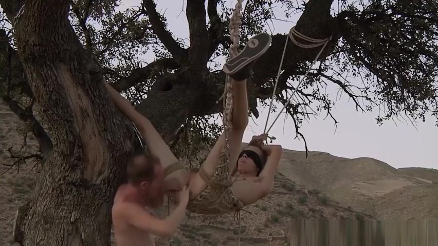 Naughty Jack needs to be punished hard outdoor by Sean young twinks fucking old men