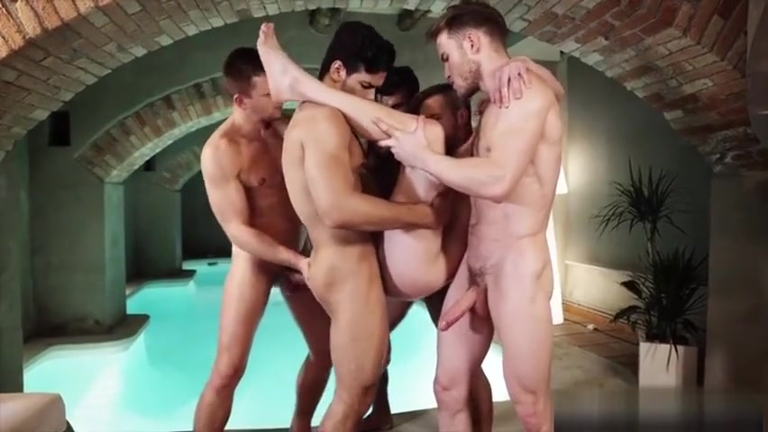 Hot gays threesome with cumshot cuestion de sexo ver online