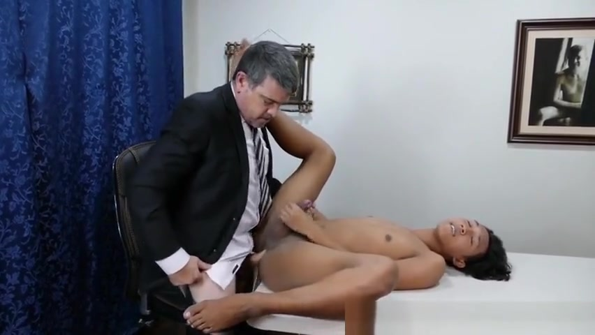 Pinoy twink doggystyled by office dilf naked girls do sex with autism video