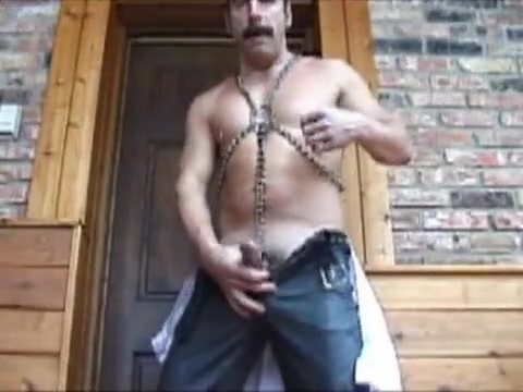 harnessed Wife naked with neighbors