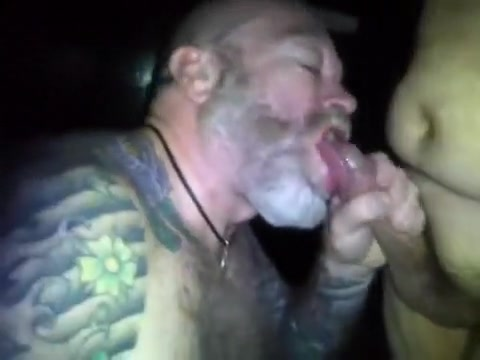 Engulfing off a buddy in the Porn Theater Married men circle jerk fucking