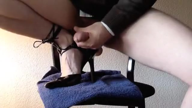 Darksome Ankle Heels and me jerking City with best strip joints
