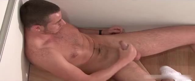 Hot nice body cute horny guy jerking his big cock hard Fucking sexy ladies