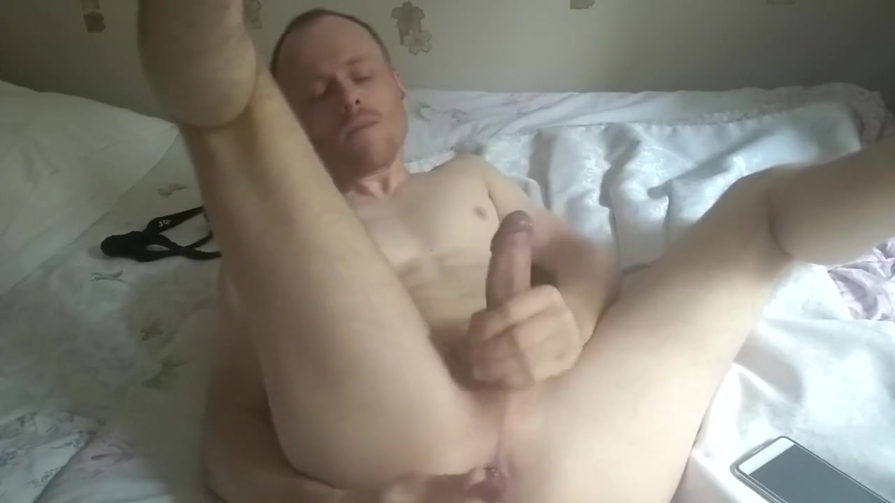 When Im Home Alone Im play with my Cock and Asshole Mamas got some big titties