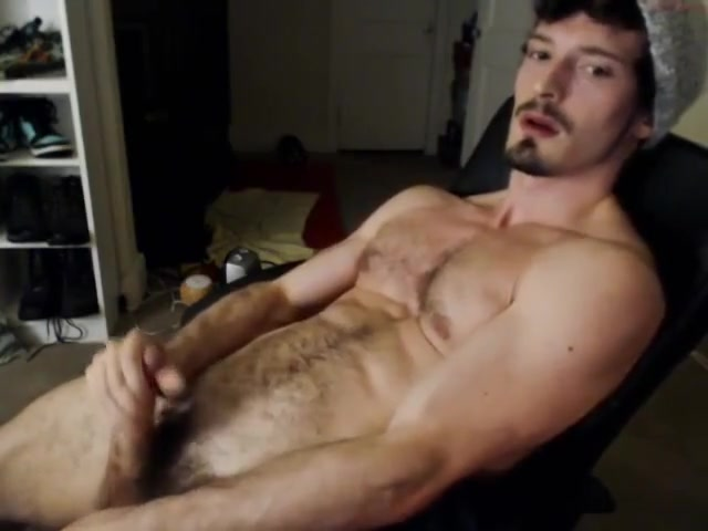 Straight hairy guy cum on cam men hard at work gay porn