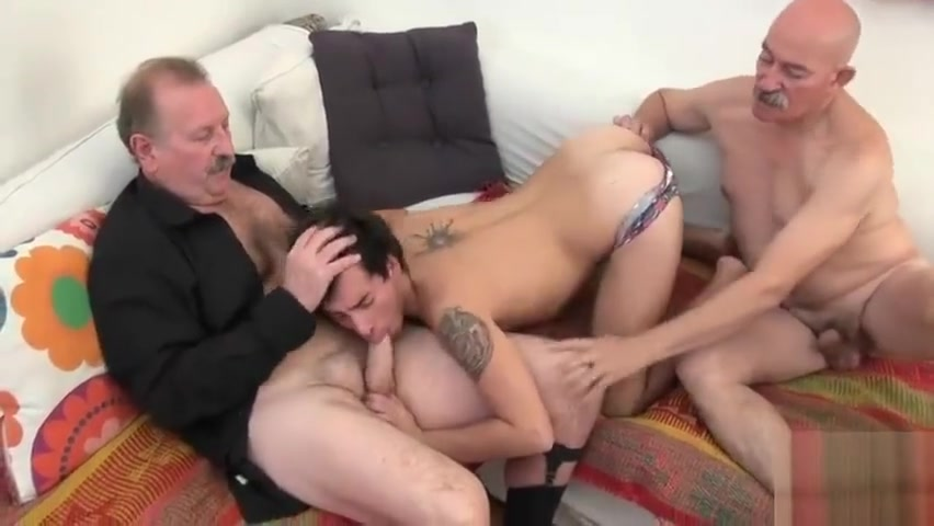 Older4me - The Old Times Bitch gives nice oral after getting holes licked