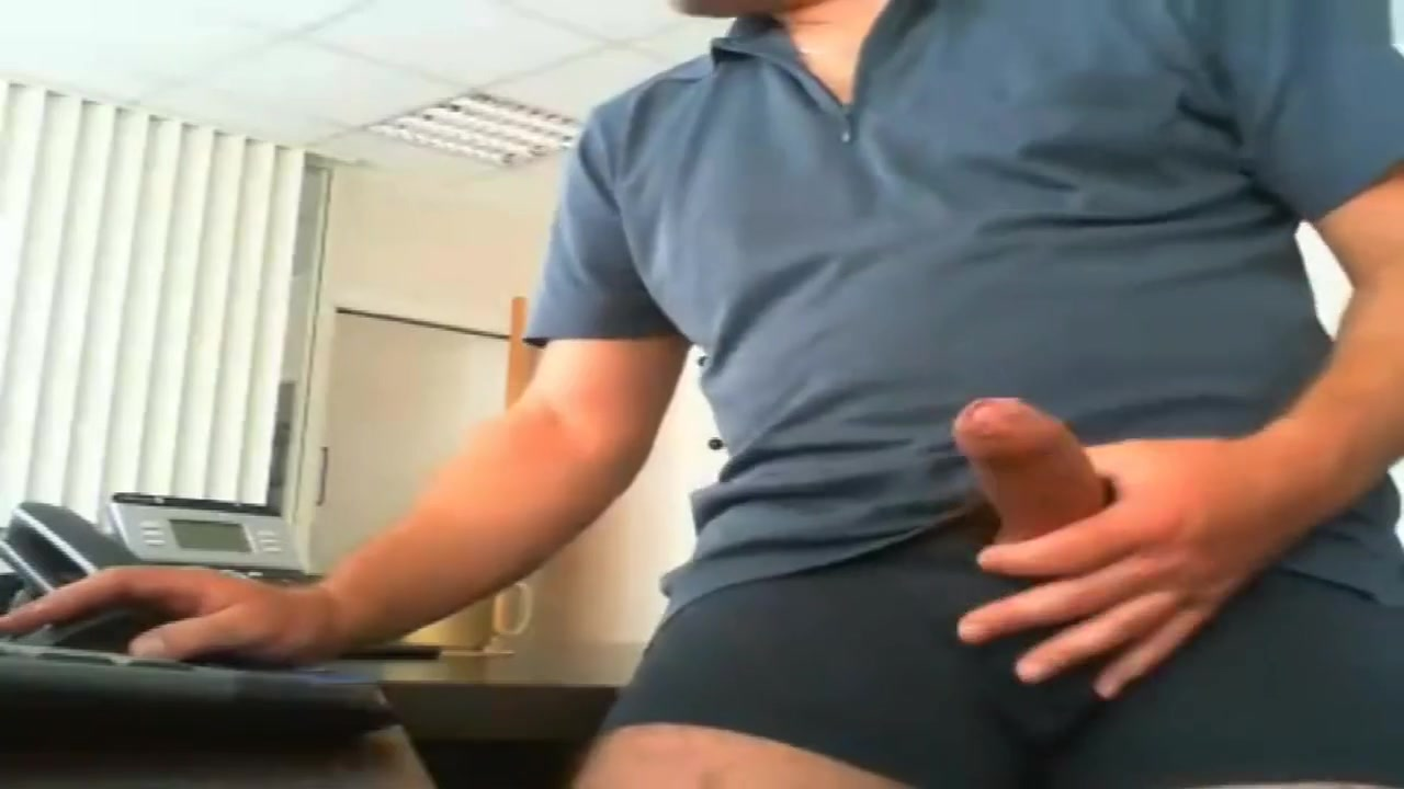 FRENCH FAT COCK DAD JERK IN OFFICE Shyla styles butt fucking