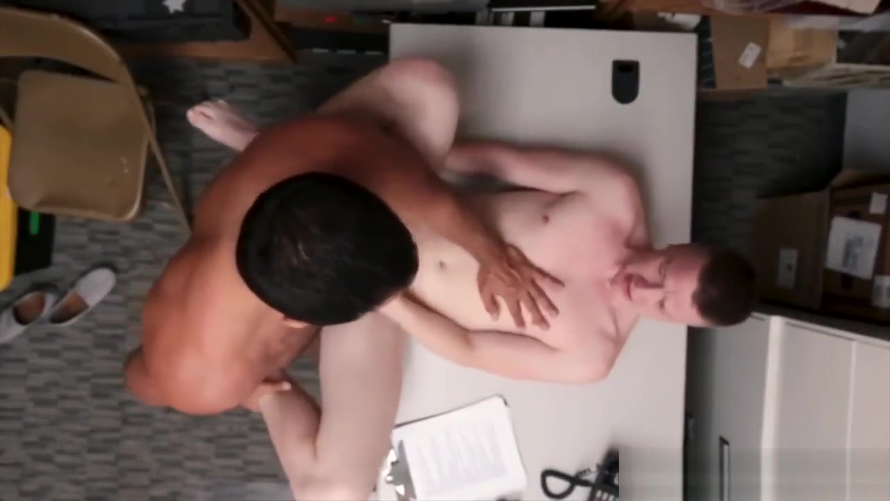 Police men fuck boy gay xxx 1 Caucasian masculine employee, How to apologize for creeping a girl out