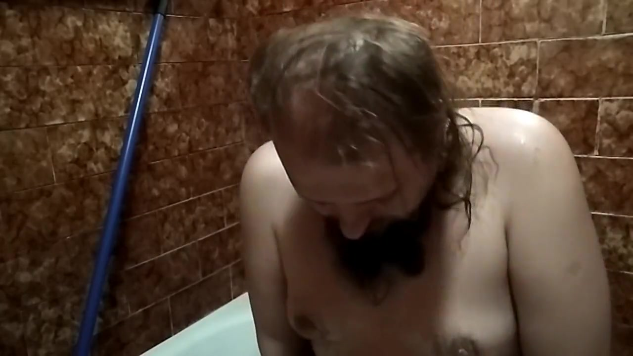 Daddy in Shower play non silica breast enhancement