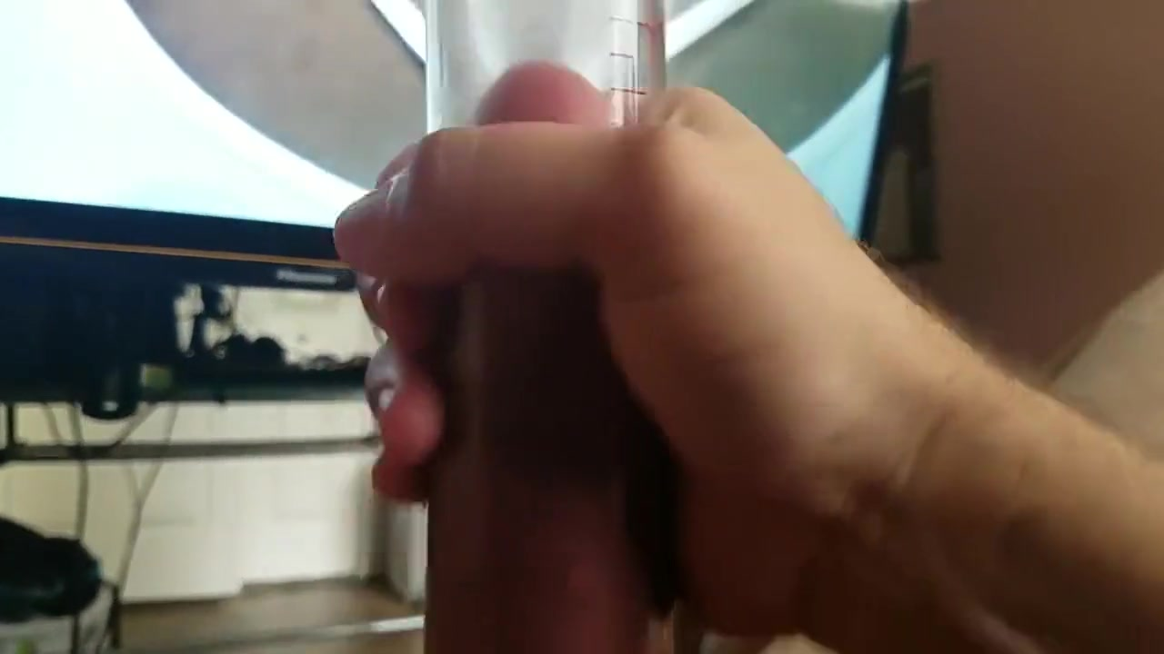 Awesome Penis then Ball Pumping Fun, Part 1: SO HARD surprise public cumshot compilation