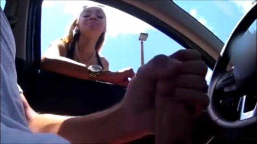 Perfect blonde sees how a man masturbates in his car ebony ruff sex hot ebony get a rough sex and a facial jpg