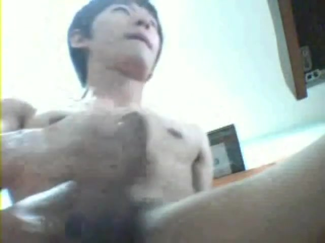 Korean 15 Big boobs hot pale college shower