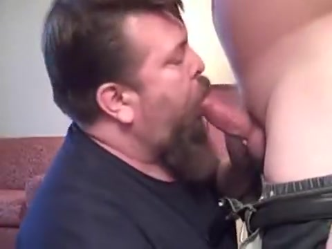Bear gives tattooed uncut Hoosier fella a oral-sex gay attracted to women