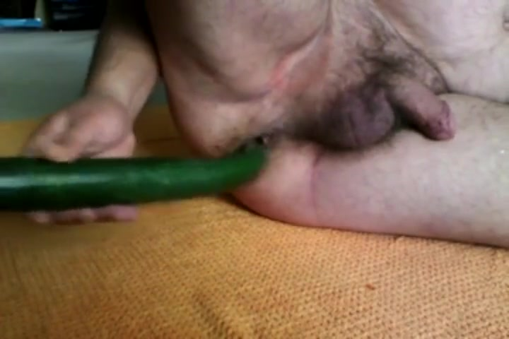 Cucumber in ass Hairy twins blowjob cock and pissing