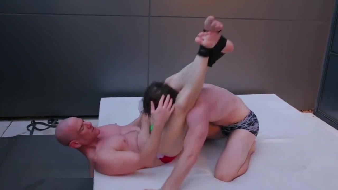 Jocks Wrestling Outdoors ROOF DECK RUMBLE Krush vs Stan fuck my girl to pay debts