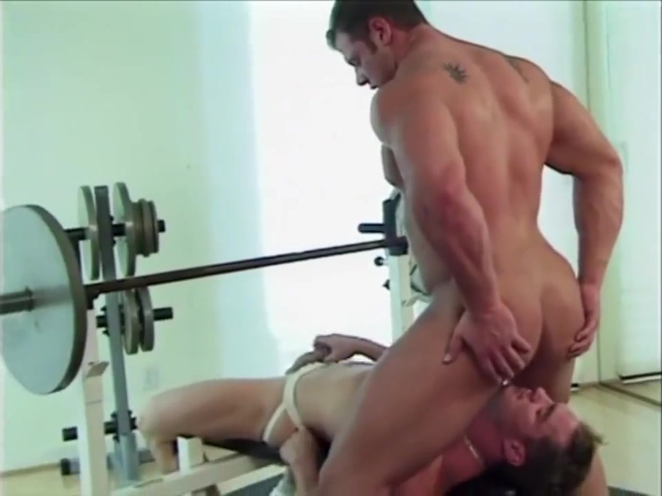 Two huge bodybuilders fuck with a hot young jock Wife first lesbian fuck
