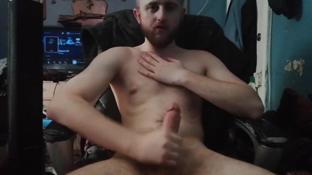 Teen boy dirty talks while stroking his big dick and cums Porn star boy handsome