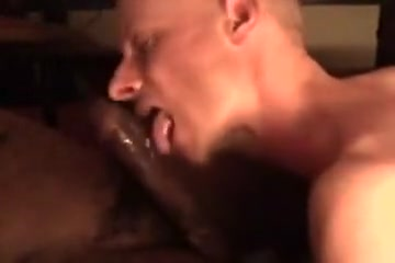 Interracial: Giving Dad some Worthy Head two Charley chase blowjob