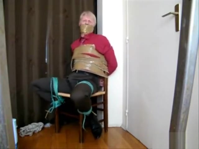Blonde Businessman Chairtied Do music video girls have to sex