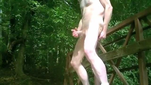 Public Park Bridge Zac efron topless modelling