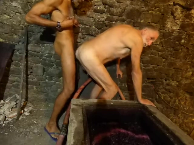 More Men Fucking over Vat of Fermenting, Bubbling Wine Best of sex compilation