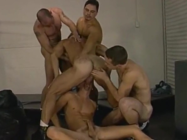 Gang of 13 Rough cock teasing gifs