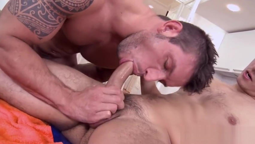 Big dick daddy anal sex and facial Big cock gangbang