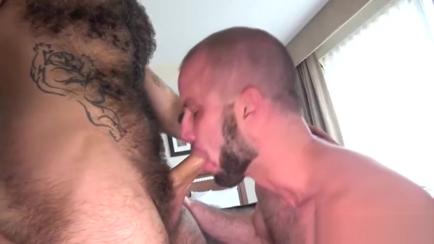 Hairy bear flip flop and cumshot lady finesse gets