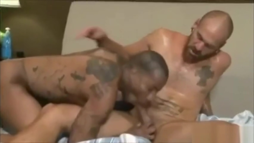 Muscle Men have verbal sex C cup tits and nice ass