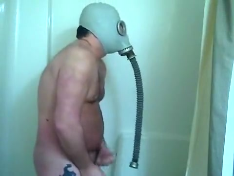 Drinking urinate in my gas mask and jerking off Anew! Fattest women of porn