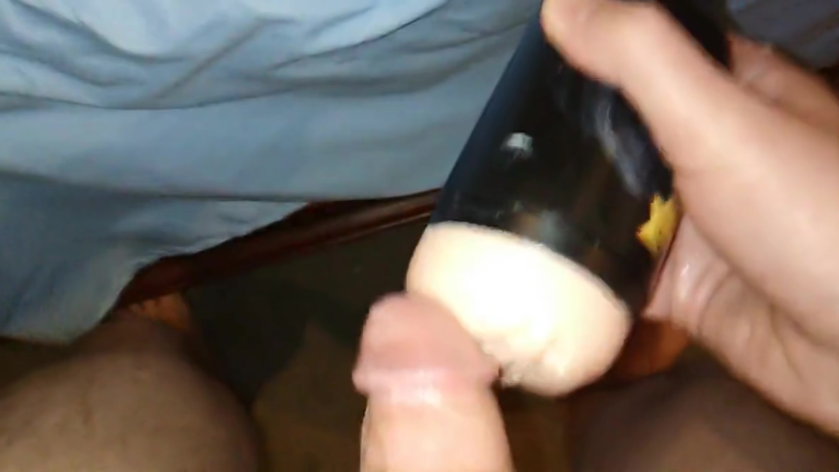 Fleshlight with cumshot Cum covered girls mouths