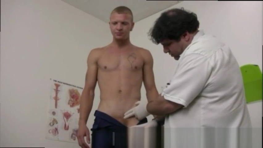 Doctors giving young men physicals Local night stands