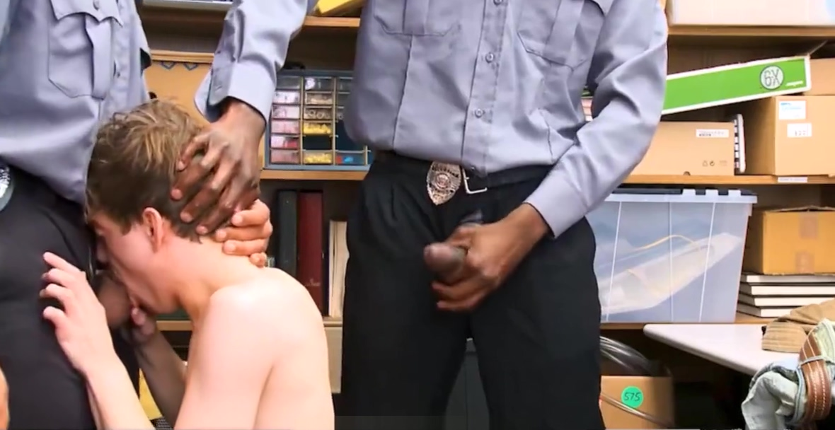 White Straight Twink Shoplifter Threesome Black Gay Cops Hot latin women porn