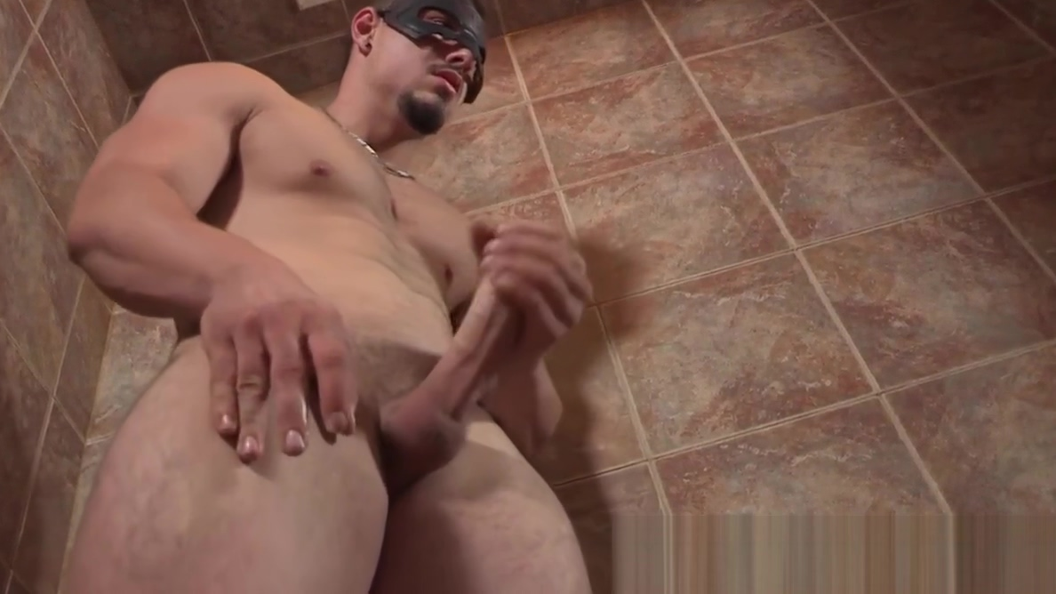 Handsome bearded stud spanks his big dick in shower solo Wrinkled Tirs