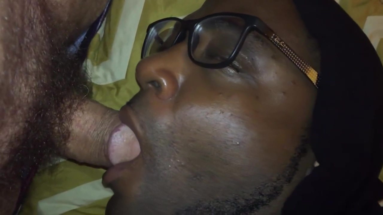 Hungry black cocksucker at motel nursing my white cock Wearing pantyhose lesbian pantyhose action sexy