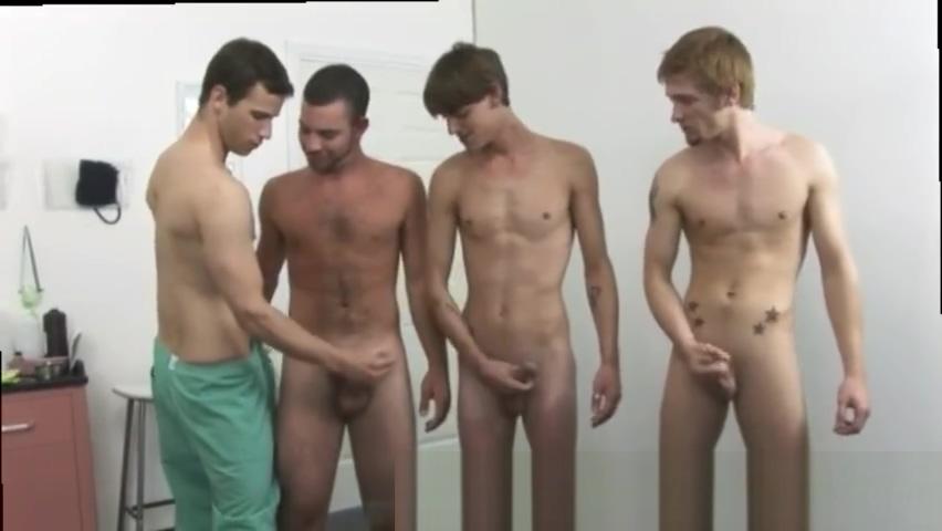 Boy gay school physical exam They Chubby blonde hairy twat