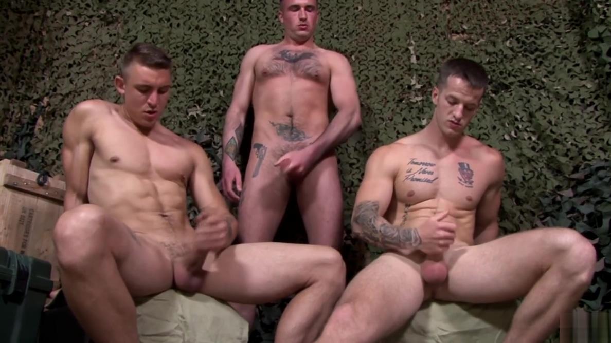 ActiveDuty Straight Soldiers Jerking & Bareback 4 Sergeant Big tit latina masturbating