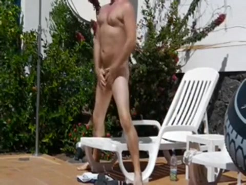 pool guy pleasure deep throat balls and all