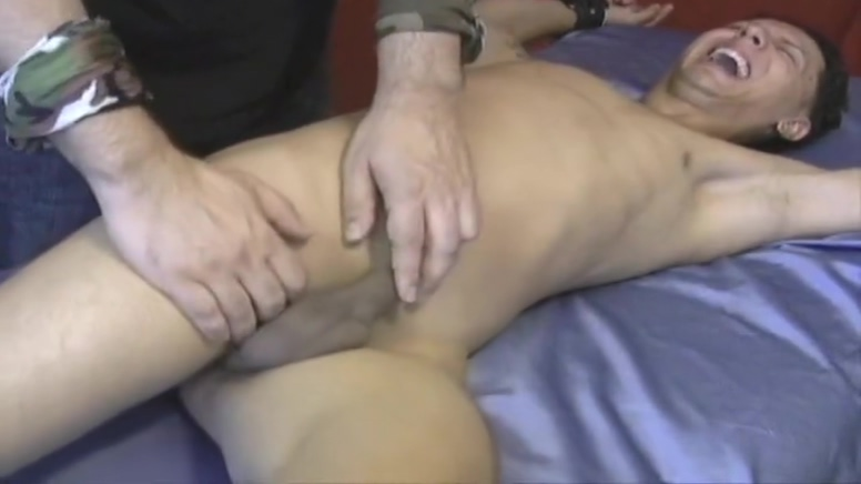 Rico Tickled - Vintage Guy Tickle naked straight guys jerking off