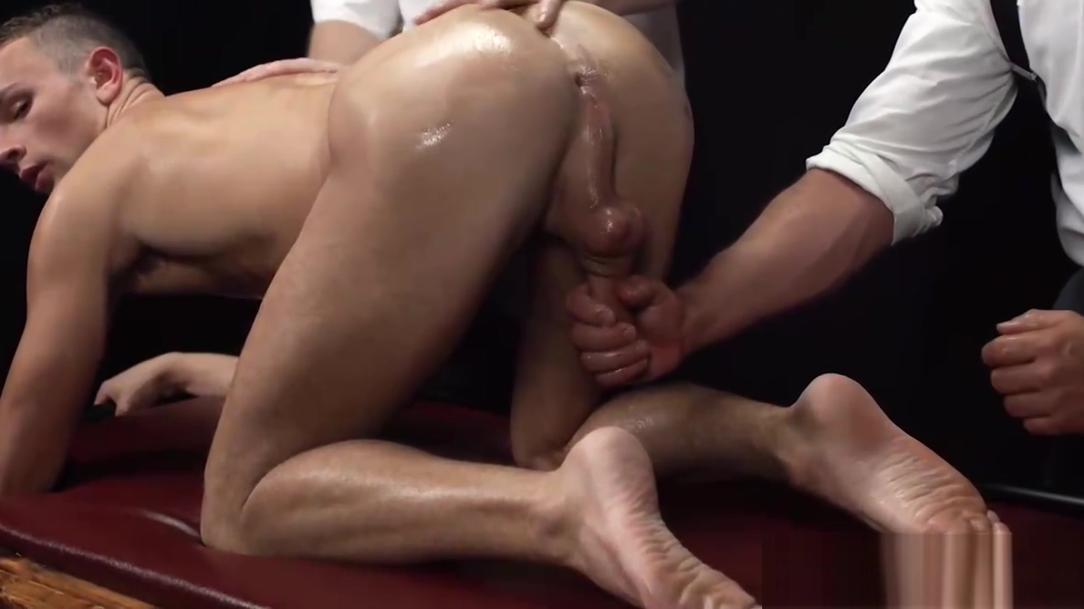 Oiled up twink gets barebacked by mature Mormon elder uncle touchy s naked puzzle basement
