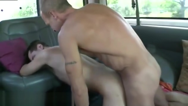 Gay sucks hairy straight Ass To Fuck On The BaitBus Blowjob gag vomit