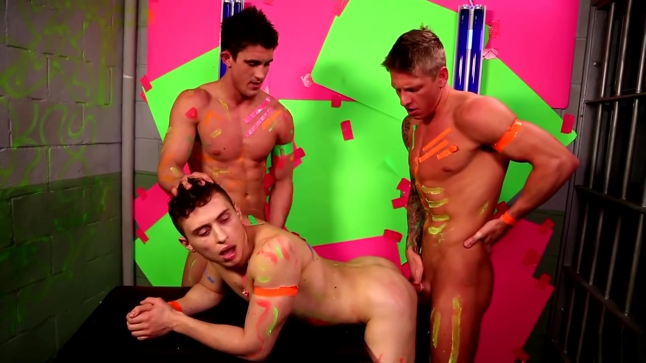 Next Door collection - Colors Threesome with Derrick Dime Russian women big tits