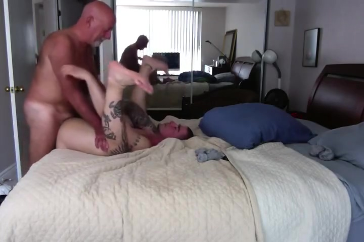 Homemade - Dad Fucks Son Me and my bbw (short video)