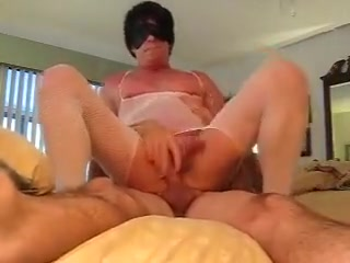 Sexy Hung Sissy Rides on Top ass love homework ass pussy huge