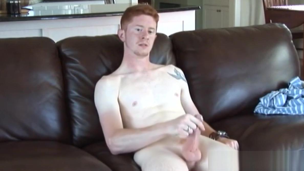 Scally UK stud tugging cock in solo scene Nas Virgrenn