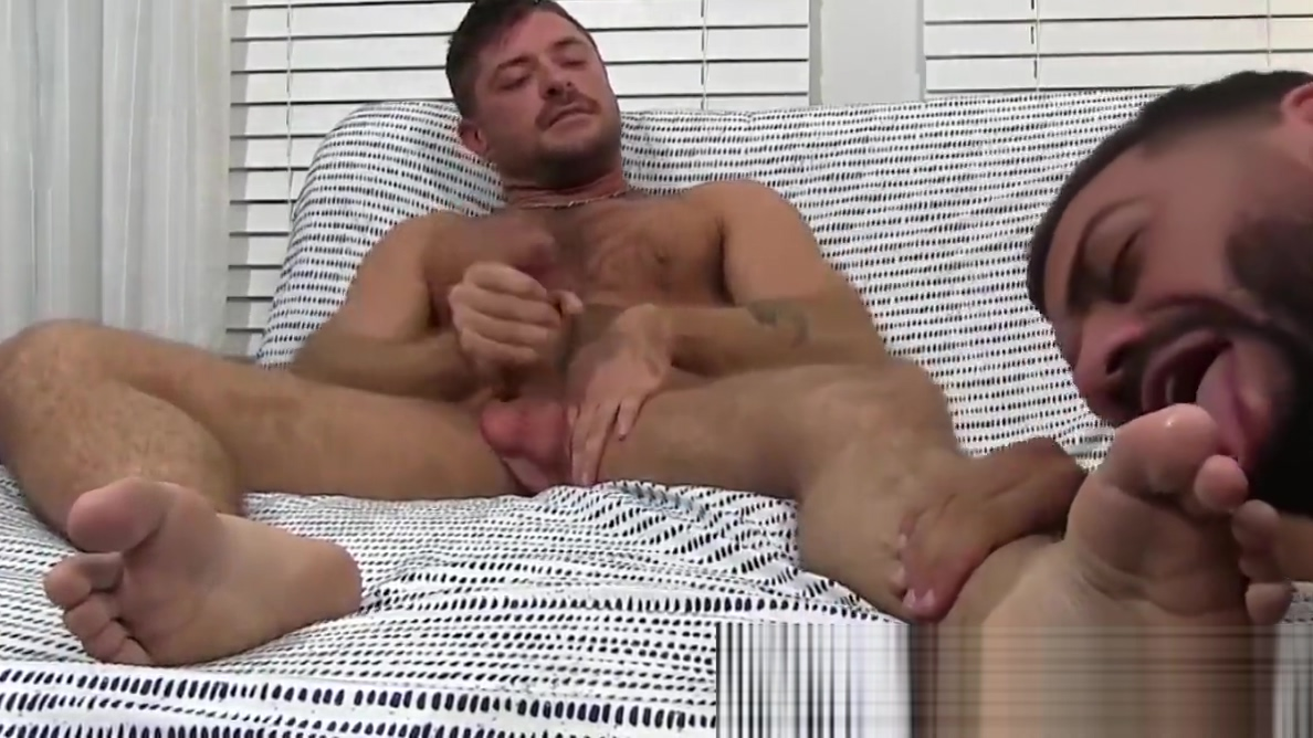 Freaky hunk swallows feet while their owner masturbates Nude videos of menopause