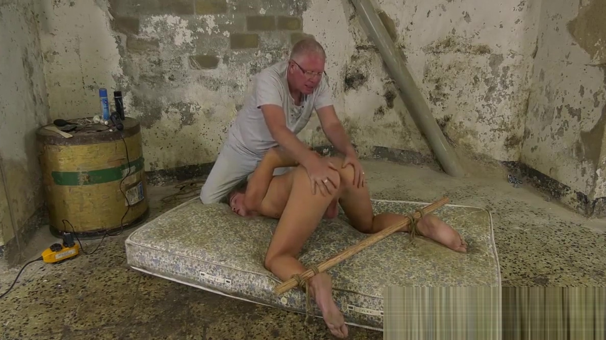 Twink Casper Ellis tied up before cumming from anal torment Hot mlif