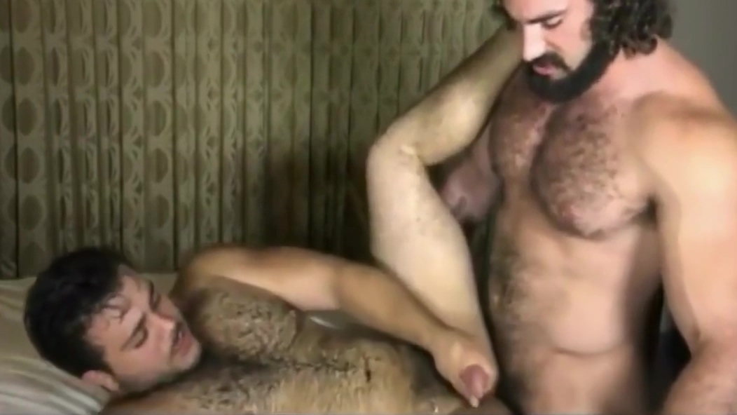Hairy muscle virgin naked tied to the bedposts